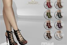 The Sims 4 downloads - Shoes