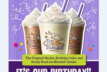 Happy 50th Birthday to Us!  / Celebrate our 50th Birthday with these new drinks!  / by The Coffee Bean & Tea Leaf