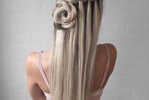 Прически, уход за волосами