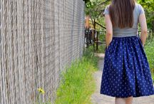 Sewing: skirts, dresses & tops