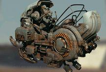 sci-fi vehicles
