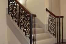 Classic Wrought Iron Stairs We Love / Classic, Mediterranean style stairs that we love the look of.