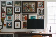 Crafting and Art Workspace / Every artist has a special workspace where they go to make their magic. Some of the these spaces are super cool! This board appreciates awesome work areas.
