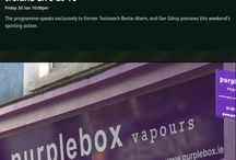 purplebox vapours in the media / purplebox vapours representing the views of vapers across Ireland and the world in the media