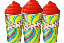 Slurpees / When I'm not in Italy, I wash down my dinner with slurpees and they're tweetchat companions.