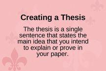 Teaching - Thesis