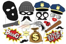 COPS AND ROBBERS PARTY THEME