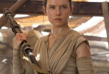 Rey-Star Wars / play by:Daisy Ridley