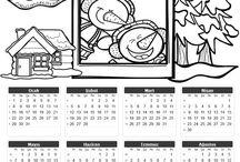 kalendář 2018