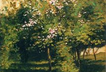 Childe Hassam / (1859 – 1935) Prolific American Impressionist painter, noted for his urban and coastal scenes. Along with Mary Cassatt and John Henry Twachtman, Hassam was instrumental in promulgating Impressionism to American collectors, dealers, and museums. He produced over 3,000 paintings, oils, watercolors, etchings, and lithographs over the course of his career, and was an influential American artist of the early 20th century.