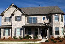 New Home Brick Options / by Robin Buckey Coker