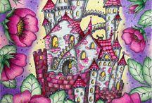 Coloring book Magical Delight Klára Marková