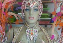 Samba neckpiece
