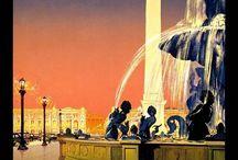 antika seyahat posterleri