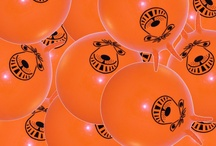 Jobhop loves Space Hoppers / The Jobhop logo is a space hopper ... It sums everything up perfectly. Hopping gets you places, you can hang on for the ride, orange is an energy colour and they're fun.