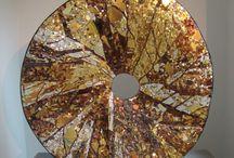 mosaic sculptures