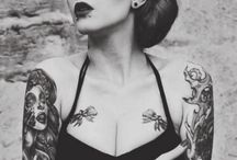 Girls&tattoos / Girls With Tattoos ARE hot.