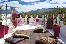 Марокканское лето в интерьере / Африканские, средиземноморские и арабские мотивы сплелись в этом экзотическом и живописном стиле!