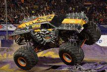 Monster jam = monster trucks