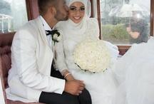 hijabi brides :) / beautiful muslim brides :)