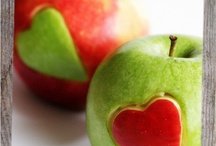 I Love Apples / This board has apple recipes, photographs, art, and crafts. / by Leah Burns