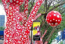 Arte urbana,trees/street art,arte publica,e afins........... / Arte urbana, tudo que é arte em publico,ou arte publica...