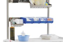 Flexline Cart Accessories / Drawer Dividers     Trays     Side/Recessed Storage     Cart Overbridges + Overbridge Accessories