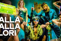 Lalla Lalla Lori Daru Ki Katori Lyrics Welcome To Karachi