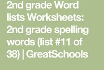 2nd Grade spelling