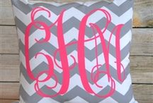 If it's not moving, monogram it.