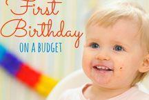 First Birthday Idea / Vihu's first b'day