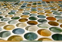 Glass Penny Rounds