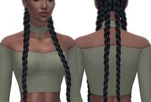 sims 4 / hair
