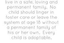 foster / adopt.