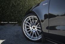 Audi / Audi A7 with 20 inch BD-4's in silver polish