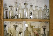 antique bottles home