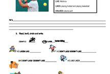 GRAMMAR  resources / Grammar guides, activities and worksheets