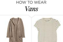 Vans styles