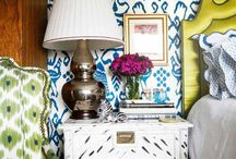 Bold & Bohemian / A collection of glamorous, daring and Bohemian feeling spaces, to help my clients to articulate their tastes.
