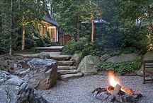Backyard Fire Pits / by Heather Woods