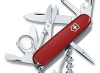 Vreckové nože 91 mm. / Vreckový nôž veľkosti 91 mm. Obsahuje mnoho fukcií.