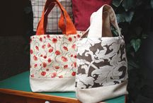 new bags / Borse in tessuto,patch,ricamo etc.....