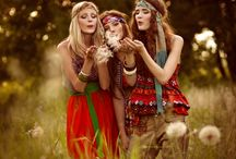 Hippie Fashion Style Shoot