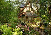 romantické domy