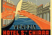 Bőröndmatricák / Egy eltűnt hagyomány mementói - európai hotelek bőröndmatricái