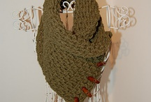 Crochet scarves, cowls and neck warmers
