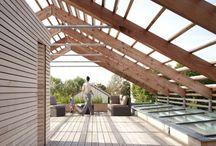 Klinai; Estructura madera