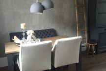 Woonkamer gerestyled by Westerbroek Exclusive Paint & Wallpapers.
