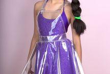 Átlátszó PVC ruha ötlet fotózáshoz