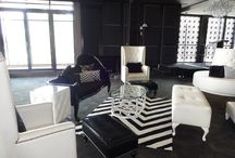 Black and white classic meets modern Wedding.  / Black and white classic pieces with a modern twist for an eleglant wedding.